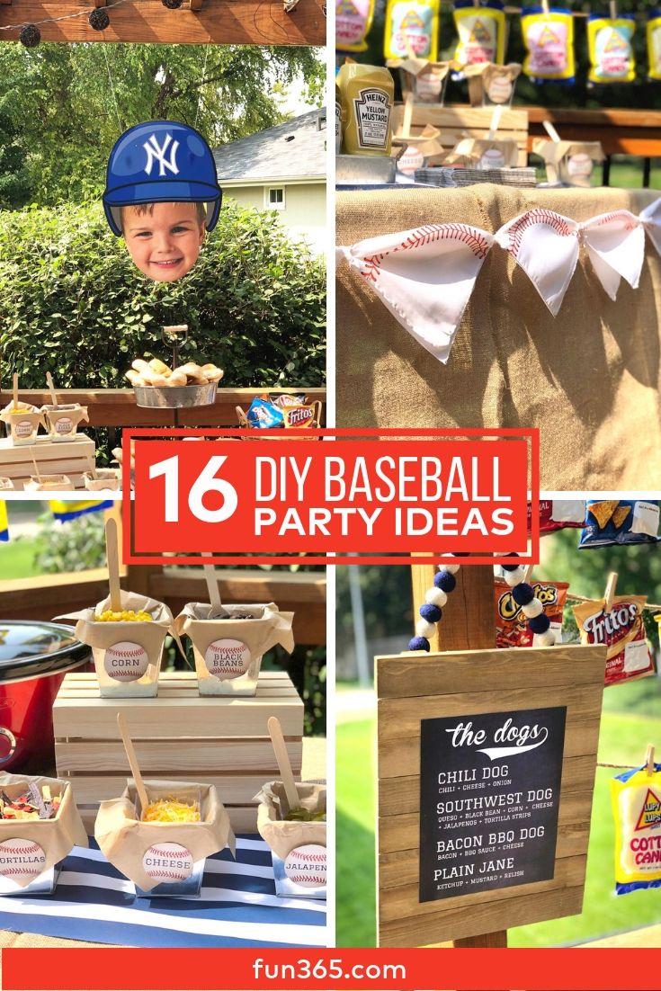 How to Throw a Baseball Themed Party advise