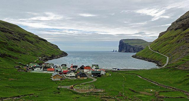 Tjørnuvik by Thorbjørn Riise Haagensen, via Flickr    Faroe Islands
