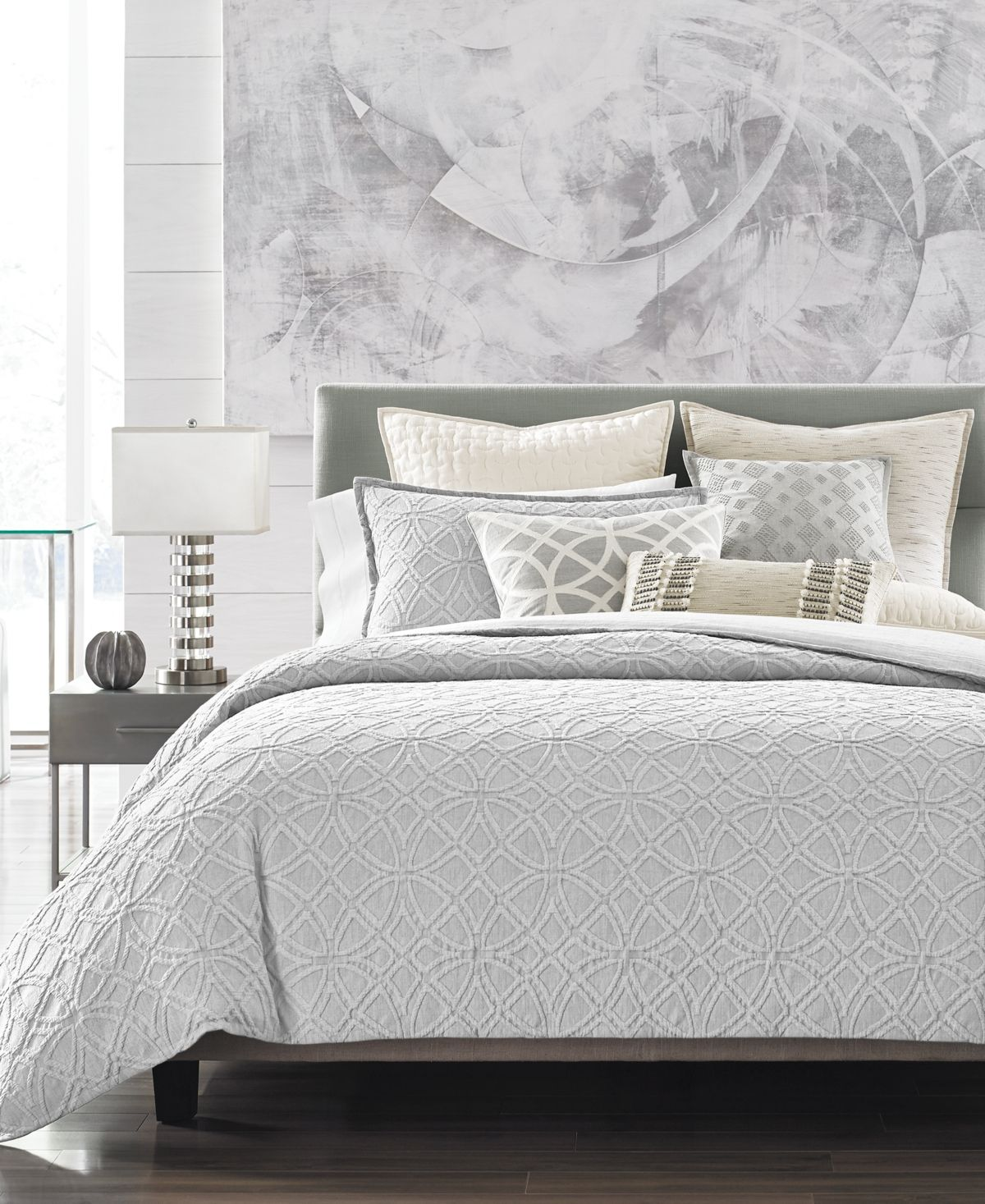 Hotel Collection Connections Full/Queen Duvet Cover