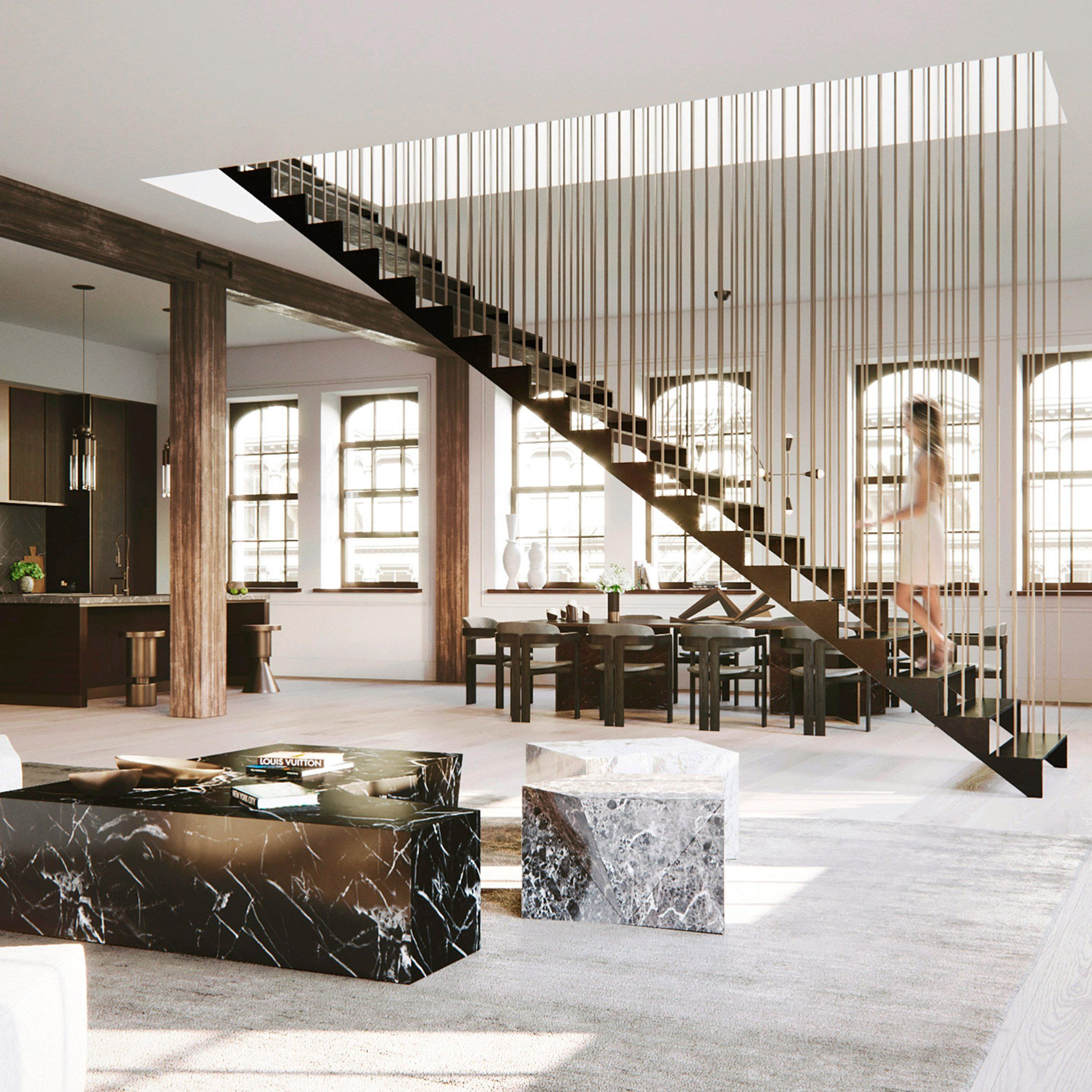 Manhattan New York Studio Apartments: Brooklyn Studio DJDS Has Redesigned The Interior A Loft