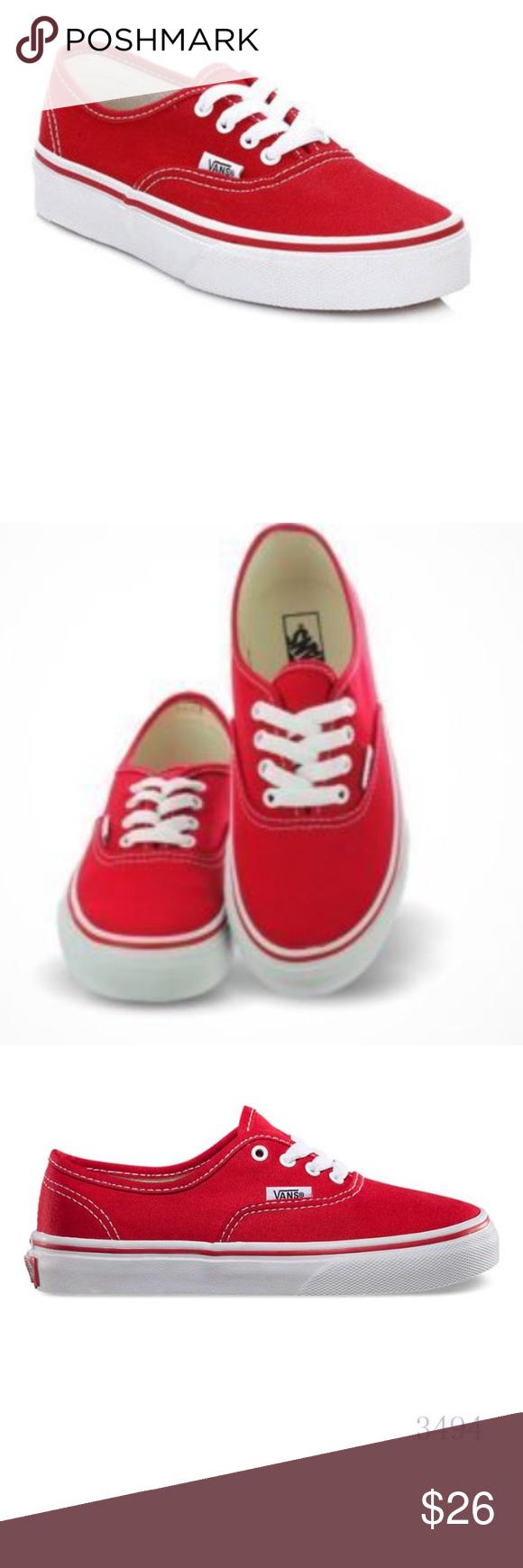 vans size 3 shoes