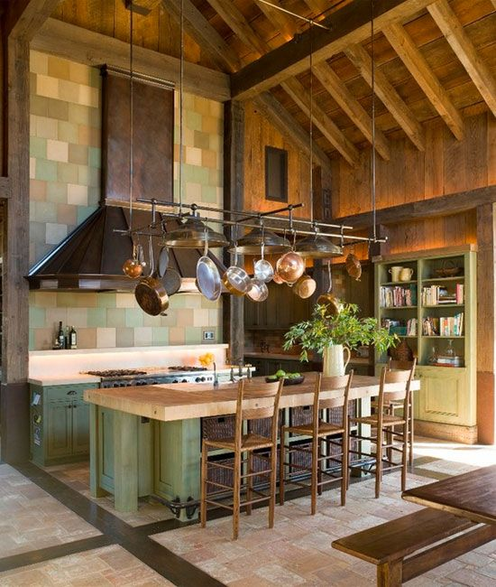 Kitchen Decor How To Make The Most Of A High Ceiling  Pot Interesting Kitchen Designs With High Ceilings Review
