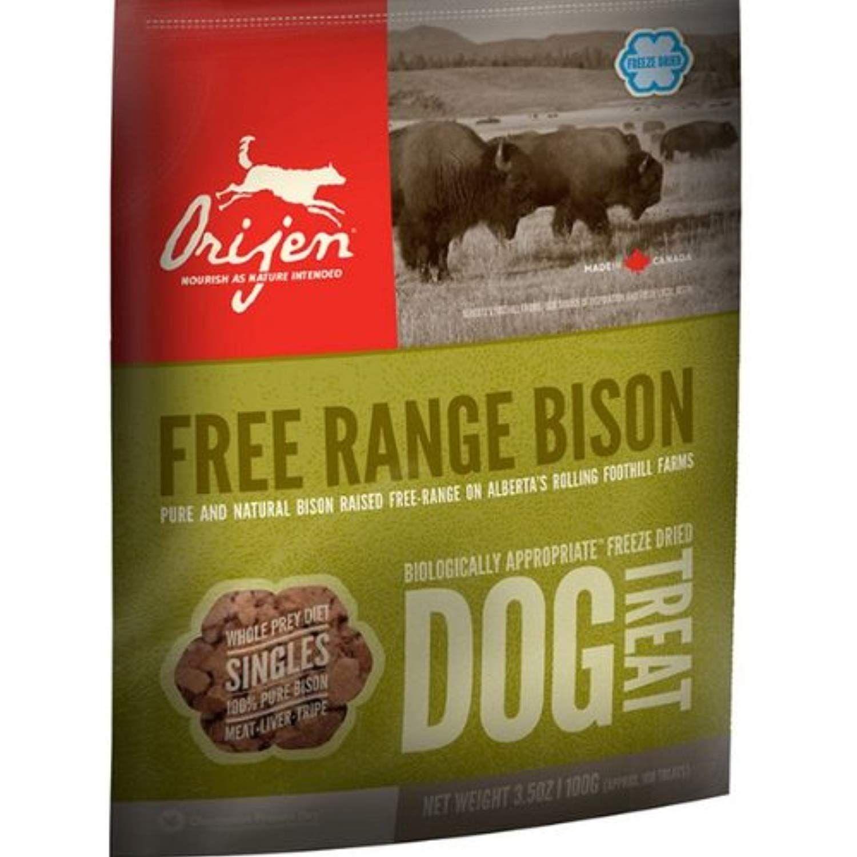 Orijen Freeze Dried Free Range Bison Treats 3 5oz Find Out