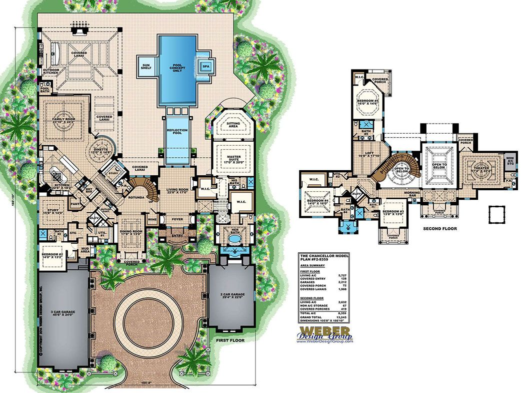 Mediterranean House Plan Luxury Tuscan Home Floor Plan Mansion Floor Plan European House Plans House Plans