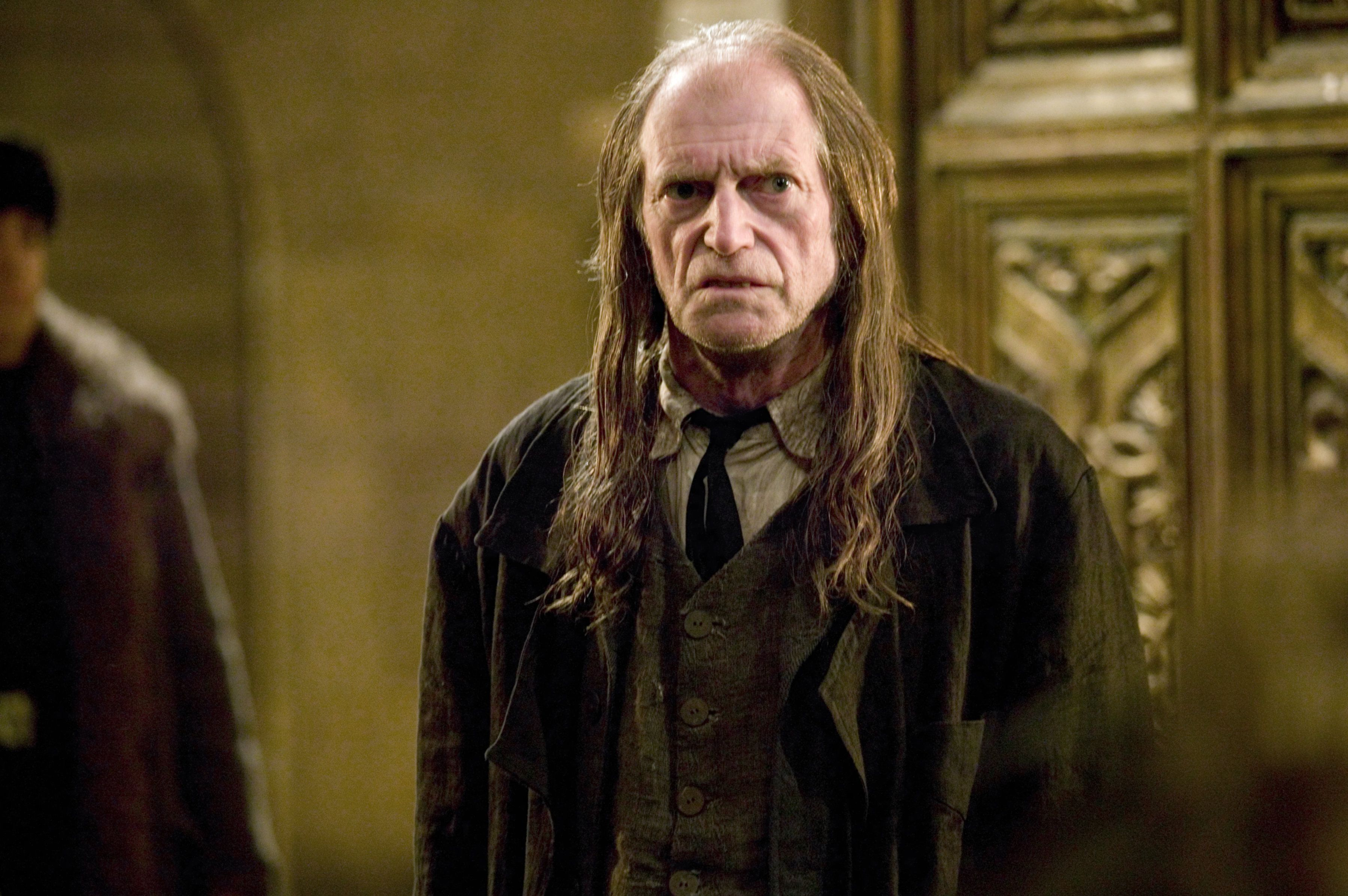 Behind The Scenes Argus Filch Pottermore Harry Potter Scene Harry Potter Characters Hogwarts Staff