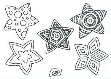 Coloriage Etoile Imprimer.Coloriages Etoiles 01 Bricolages Noel Coloriage Noel Et Dessin Noel