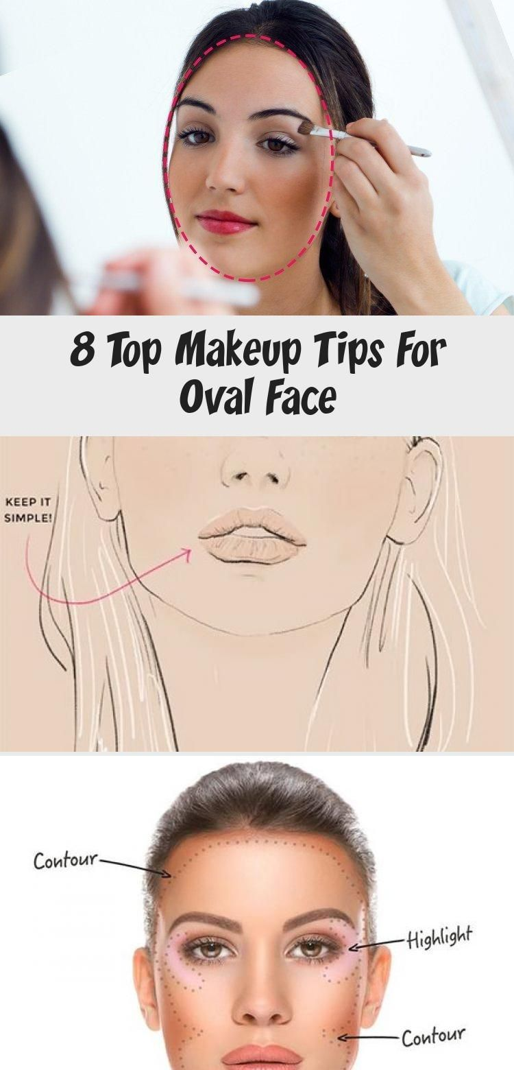9 Top Makeup Tips For Oval Face - Make-Up  Oval face makeup, Top