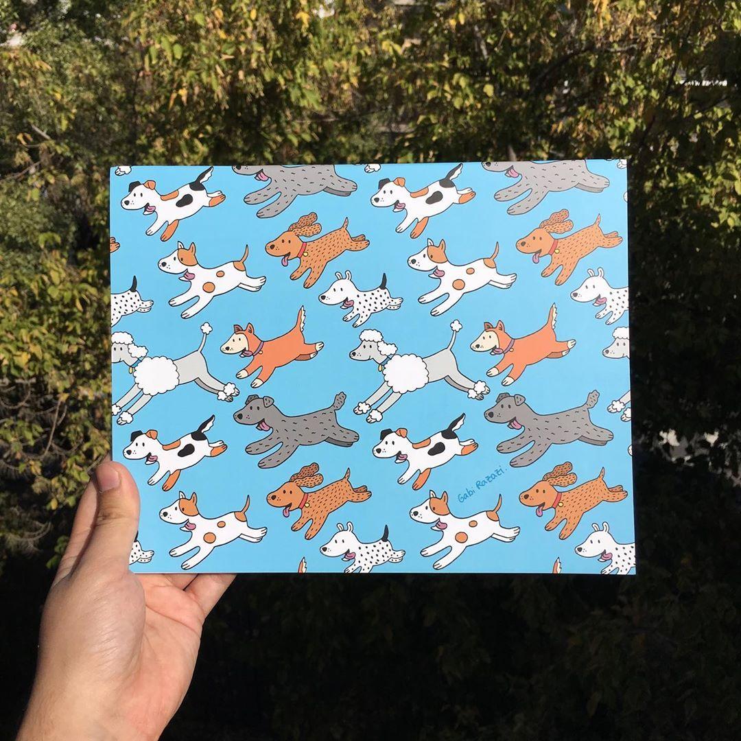 Gabi Razazi On Instagram Block De Dibujo Tamano 26 5x21 Cm 20 Hojas Blancas De 100 G Blockdedibujo Doglover Pattern Dog Lovers Instagram Dibujo