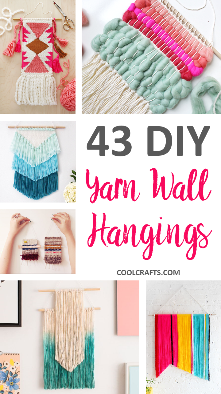 Do It Yourself Home Decorating Ideas: 43 Inspiration DIY Woven Wall Hangings For Your Home