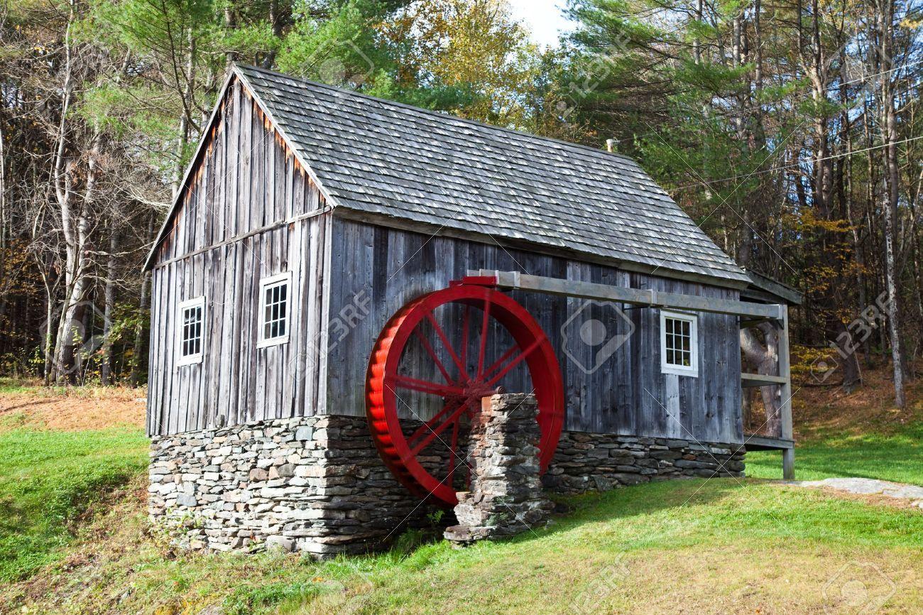 waterwheel mill Gallery Water wheel, Water mill, Summer