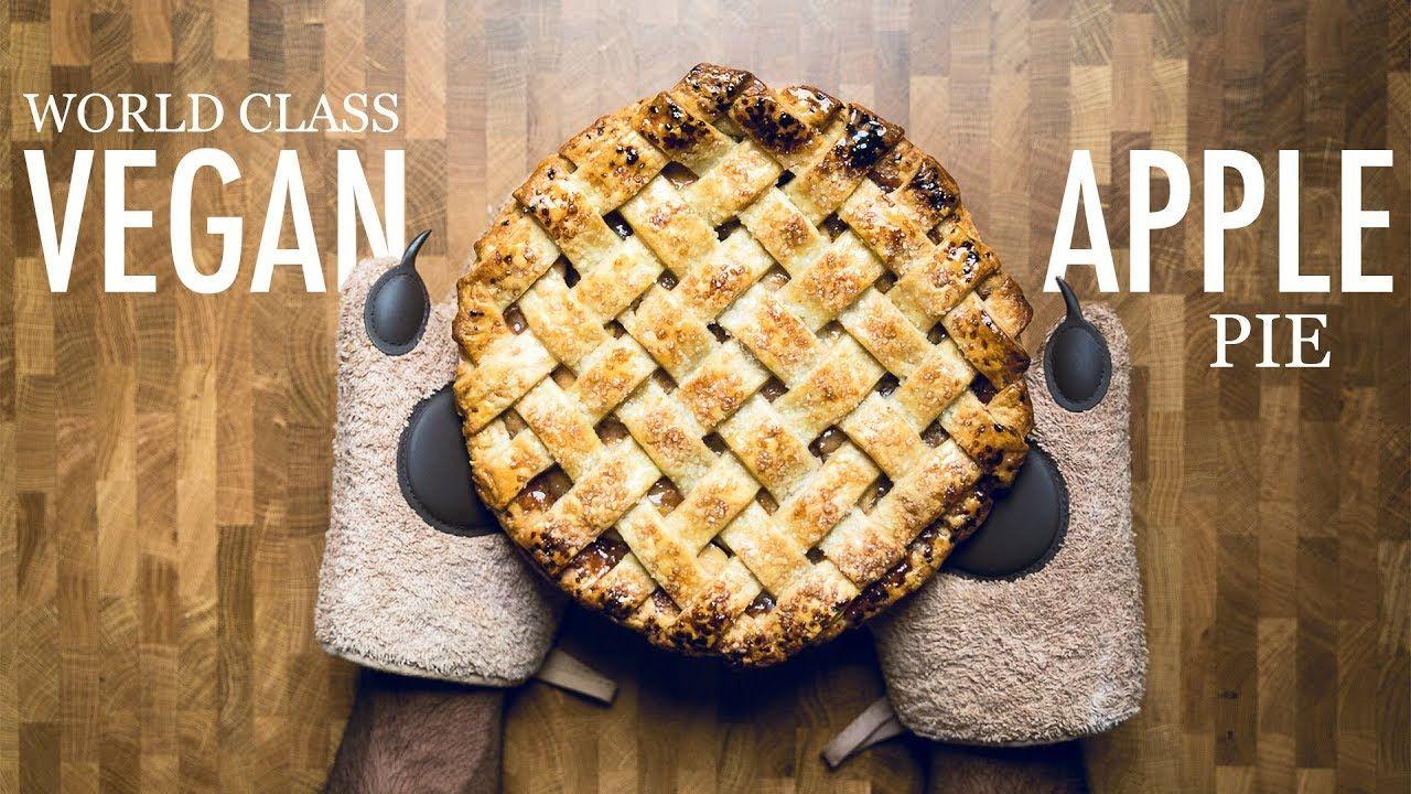 How To Make Vegan Apple Pie Youtube In 2020 Vegan Apple Pie Vegan Apple Pie Recipe Dairy Free Dessert