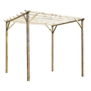 Pergola wiata ancolie forest style leroy merlin 458 z garden pergola pinterest - Pergolas leroy merlin ...