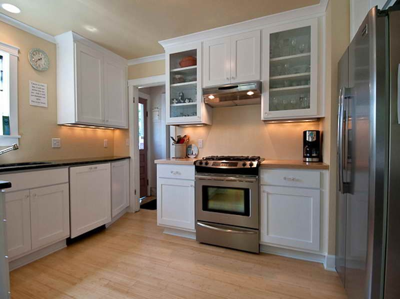 Ideas for Painting Kitchen Cabinets + Pictures From (With ...