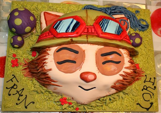 Teemo! From the game League of Legends, LOL