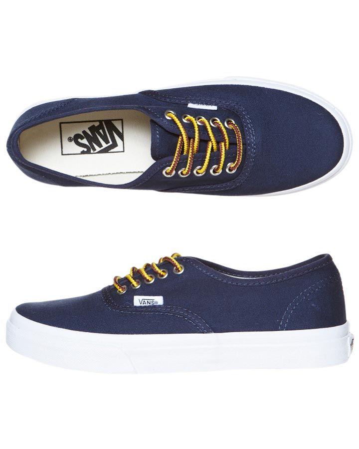 8288dc0205 Vans Authentic Slim Navy Blue