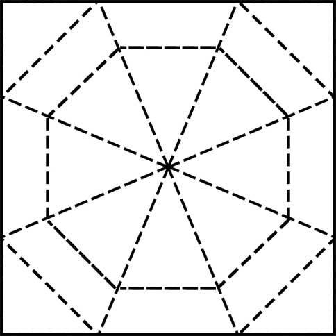 Spider Web Quilt Pattern - Printable Quilt Block | Free ...