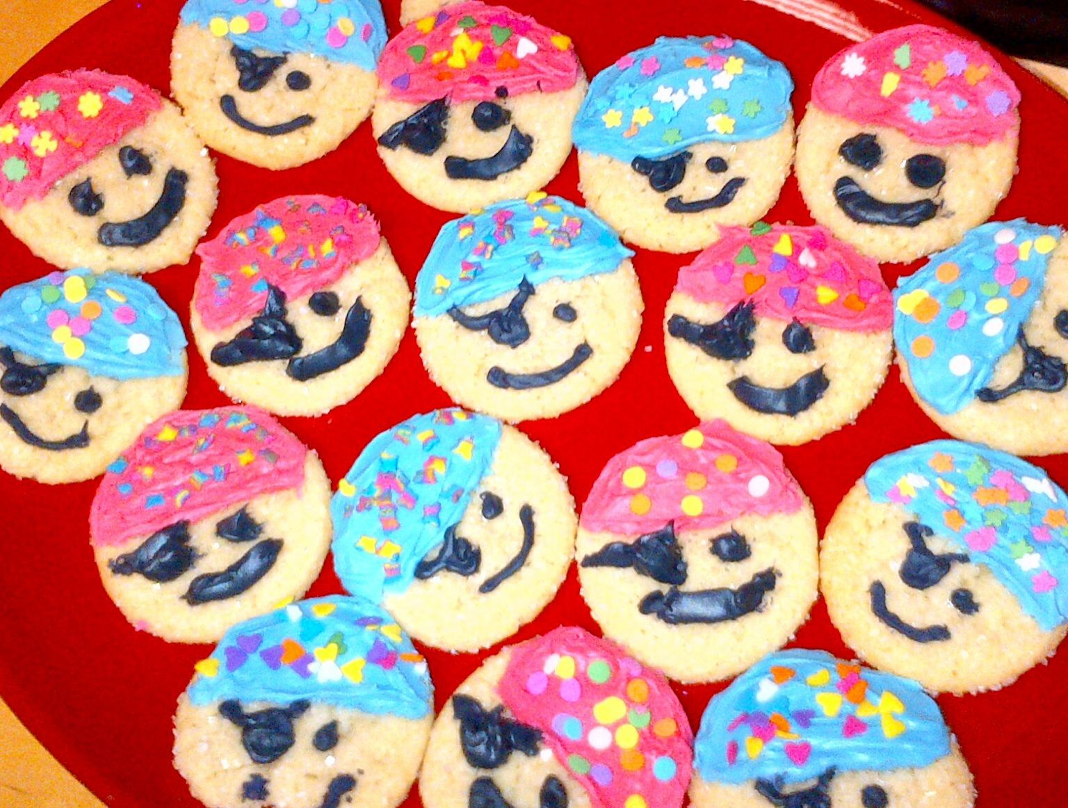 Pirate Cookies Pirate Party Theme Pirate Birthday Party Treats