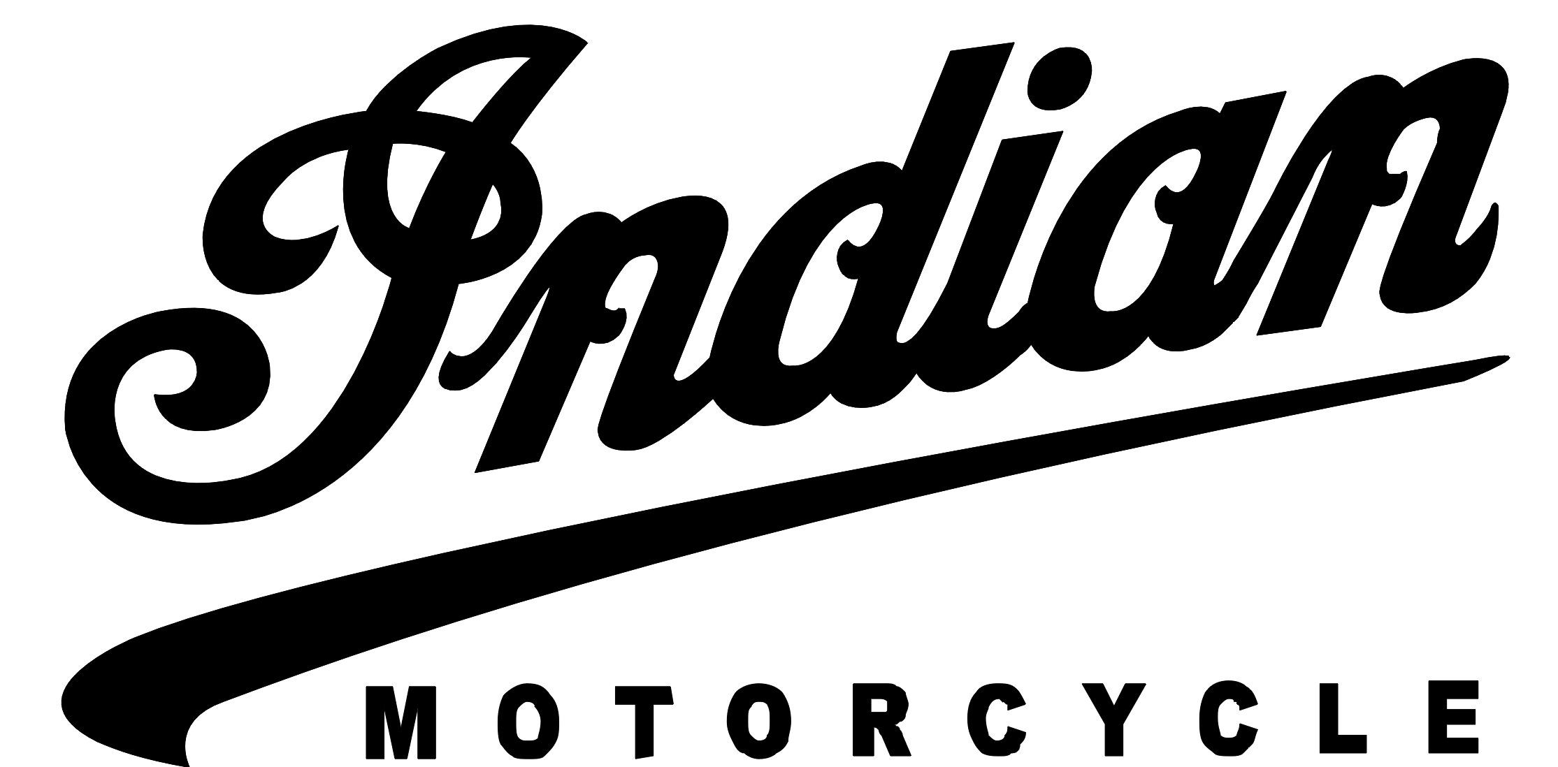 The Script Lettering Used For Indian Motorcycles Evoked A