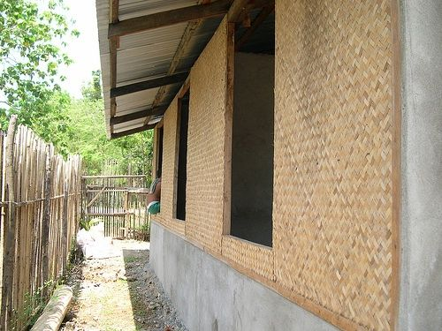 Amakan Woven Bamboo Wall Cladding Kawayan Amakan Banig