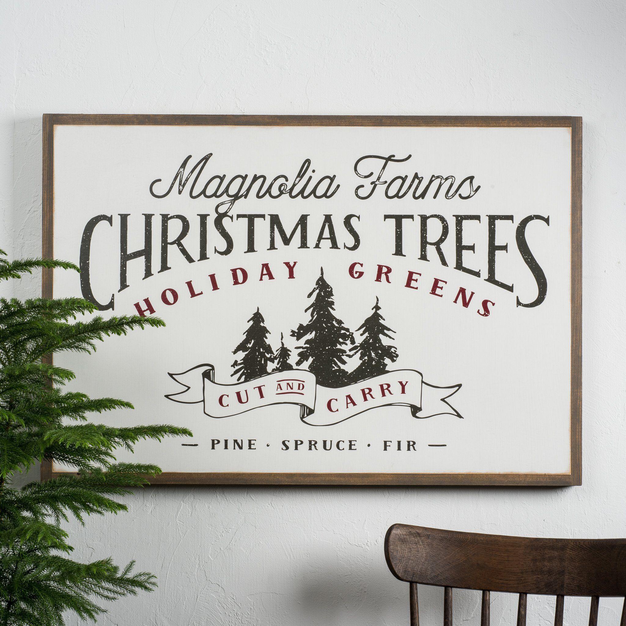 Christmas Tree Farm Lyric