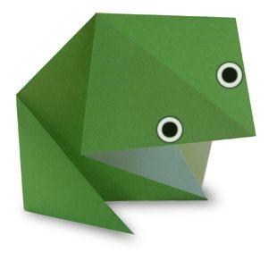 Origamisammakko.