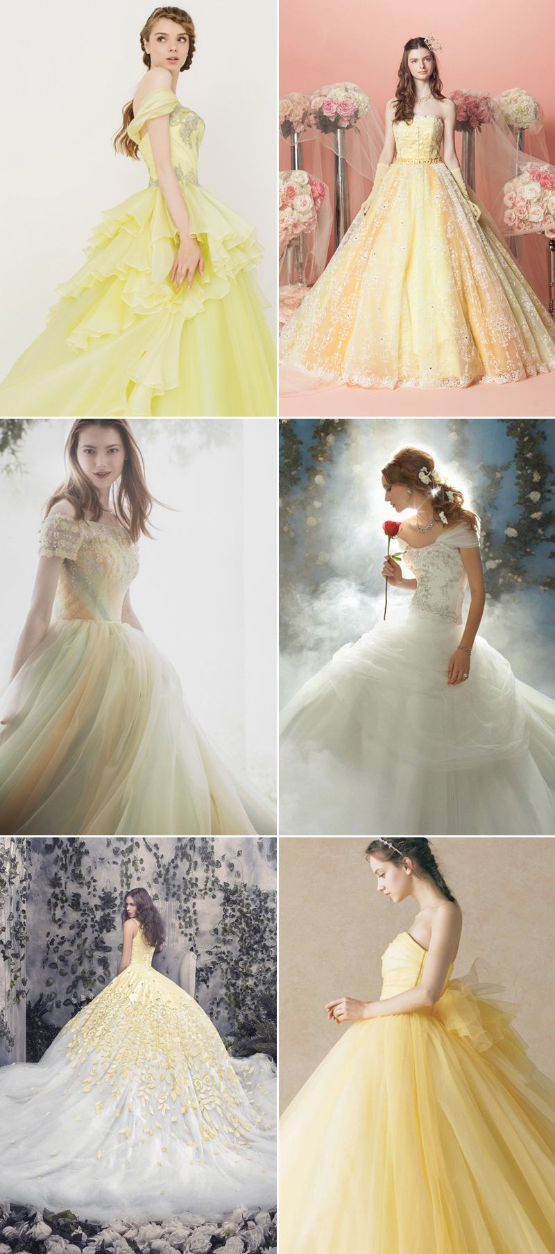 Beauty And The Beast Bridesmaid Dresses: 34 Magical Ideas For A Beauty And The Beast Wedding