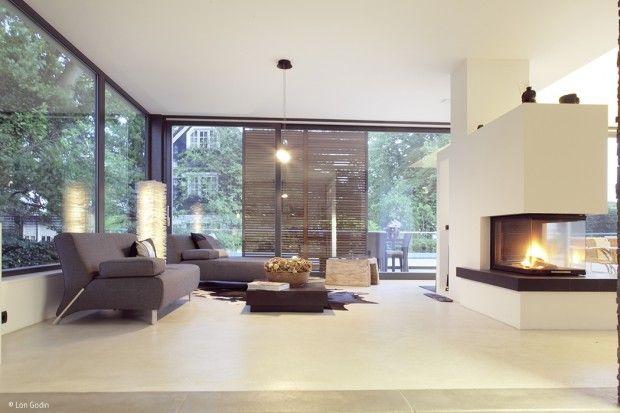 Eine raffinierte Anordnung der Räume und Ebenen, die ganz