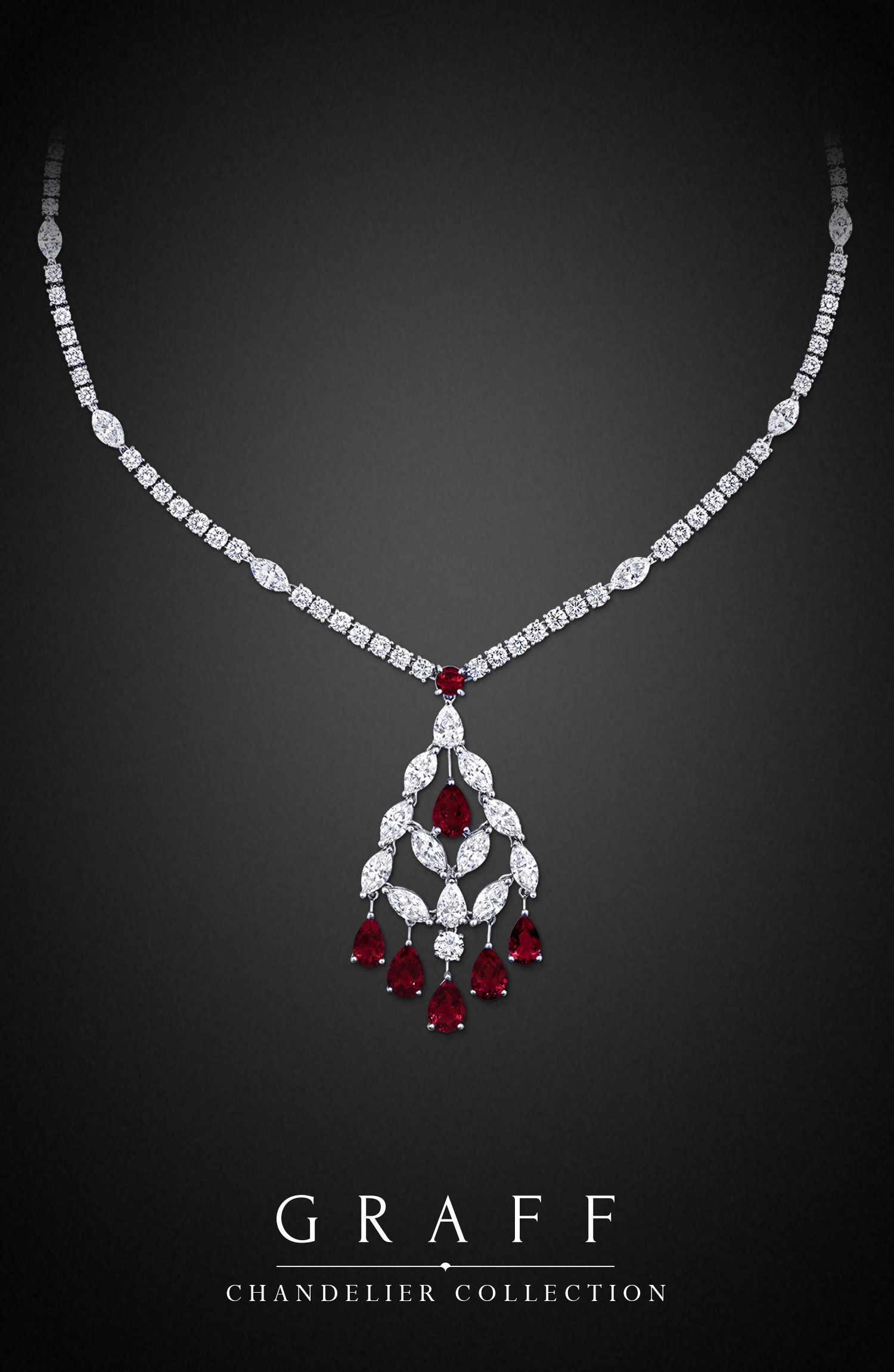 Chandelier necklace chandeliers diamond and jewel graff diamonds chandelier necklace aloadofball Choice Image