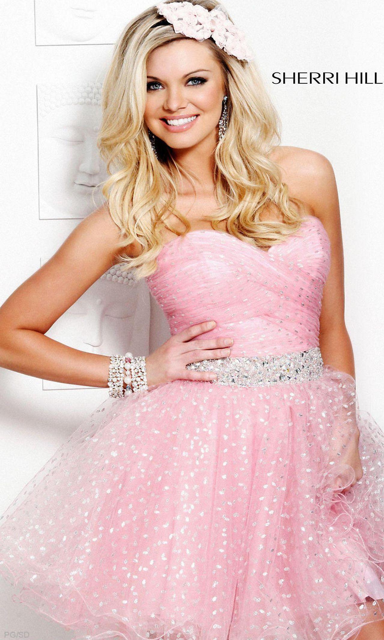Sherri hill clothes pinterest sherri hill prom dresses