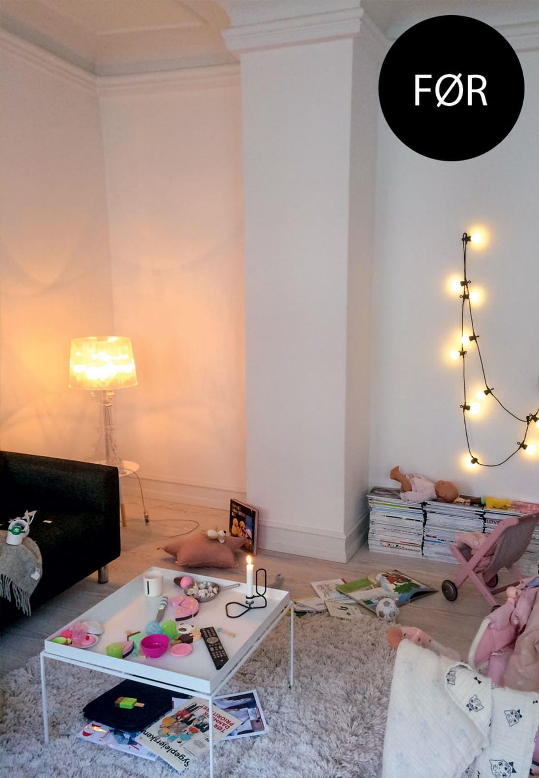 Sådan får du mere plads i stuen Home decor, Home, Decor