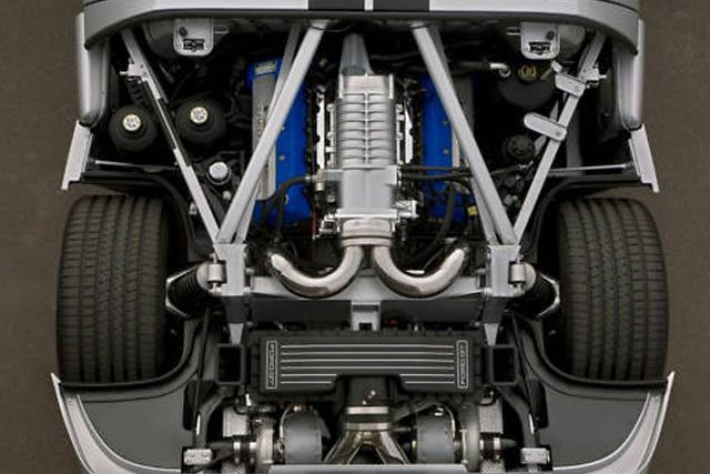 The Engine In This Ford Gt Shows That Sometimes Too Much Is Just Right Motormonday