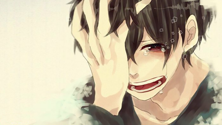 Pin on Sad AnimeManga Character