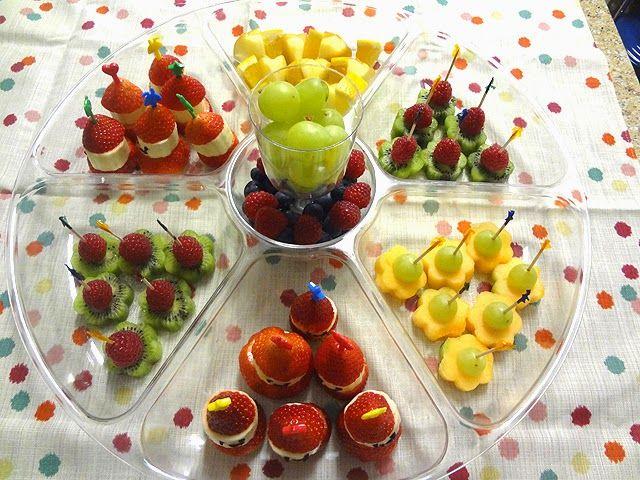 ideas y cosas para tus fiestas infantiles frutas para tus fiestas