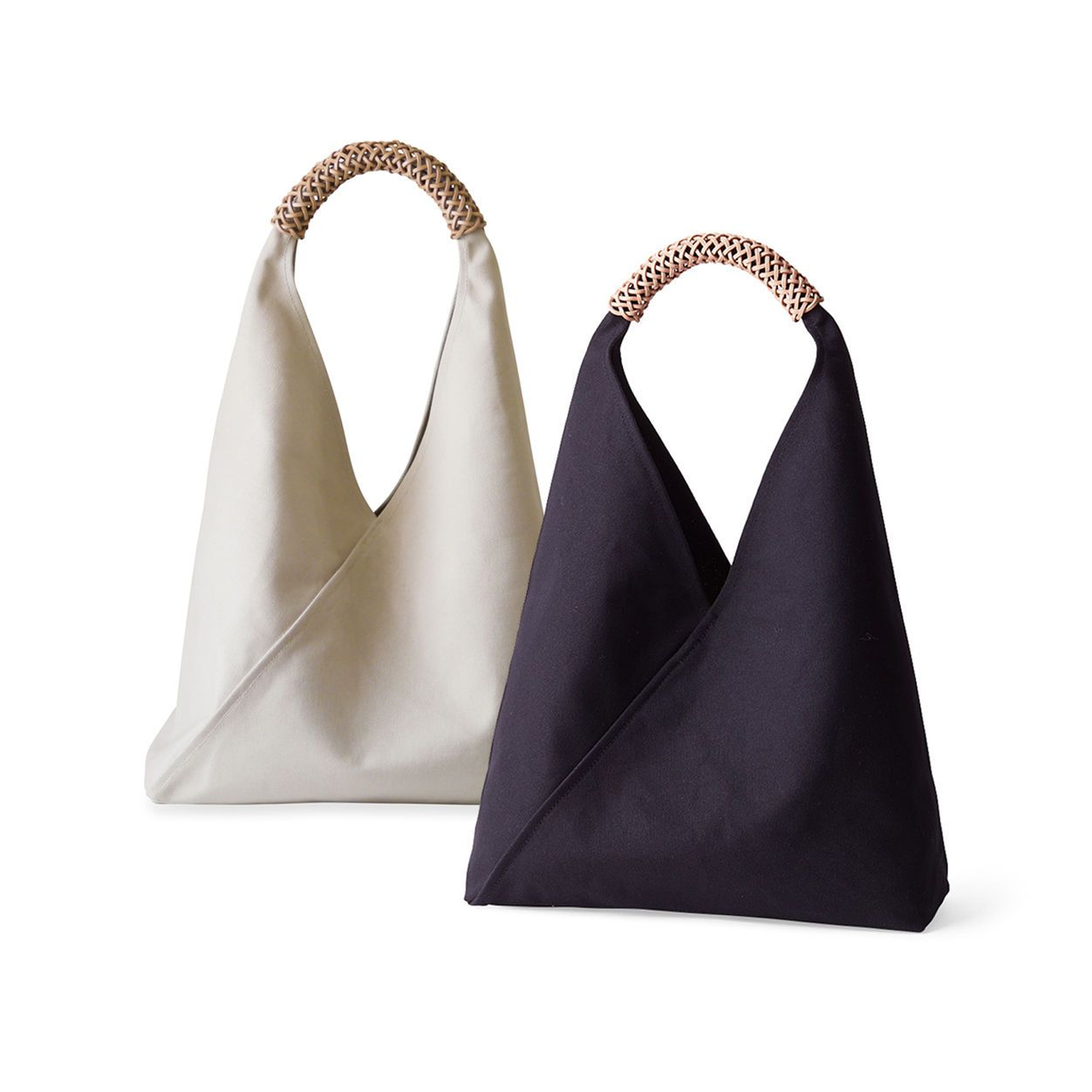 Woven Triangle Bag