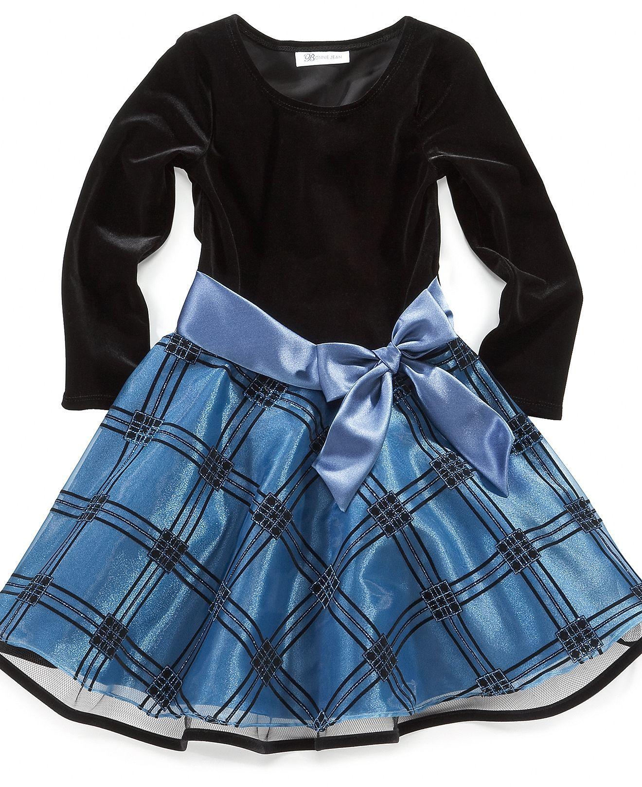 macys infant christmas dresses