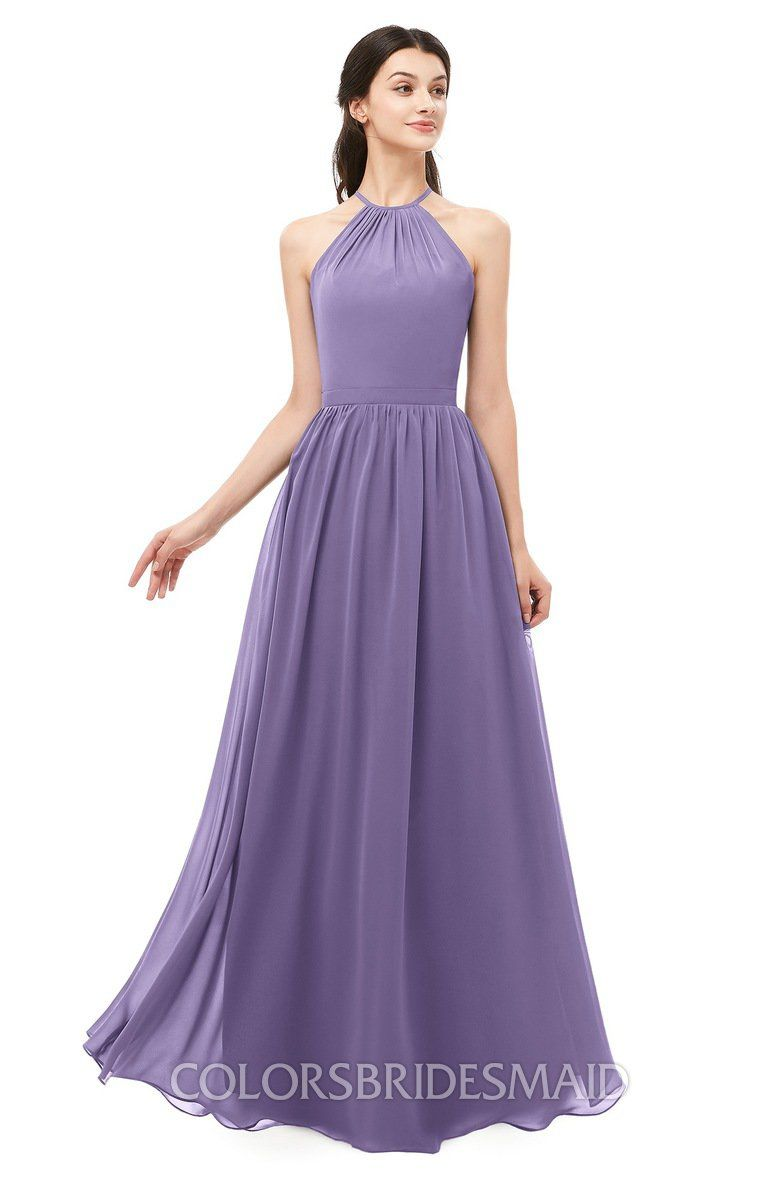 173e352a6c9bc ColsBM Irene Bridesmaid Dresses Sleeveless Halter Criss-cross Straps Sexy  A-line Sash #colsbm #bridesmaids #bridesmaiddress #weddings .