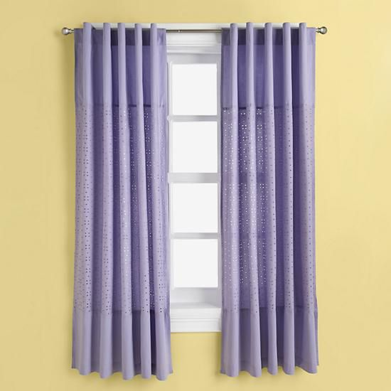 The Land Of Nod | Kids Curtains: Kids Purple Lavender Curtain Panels In All  Room