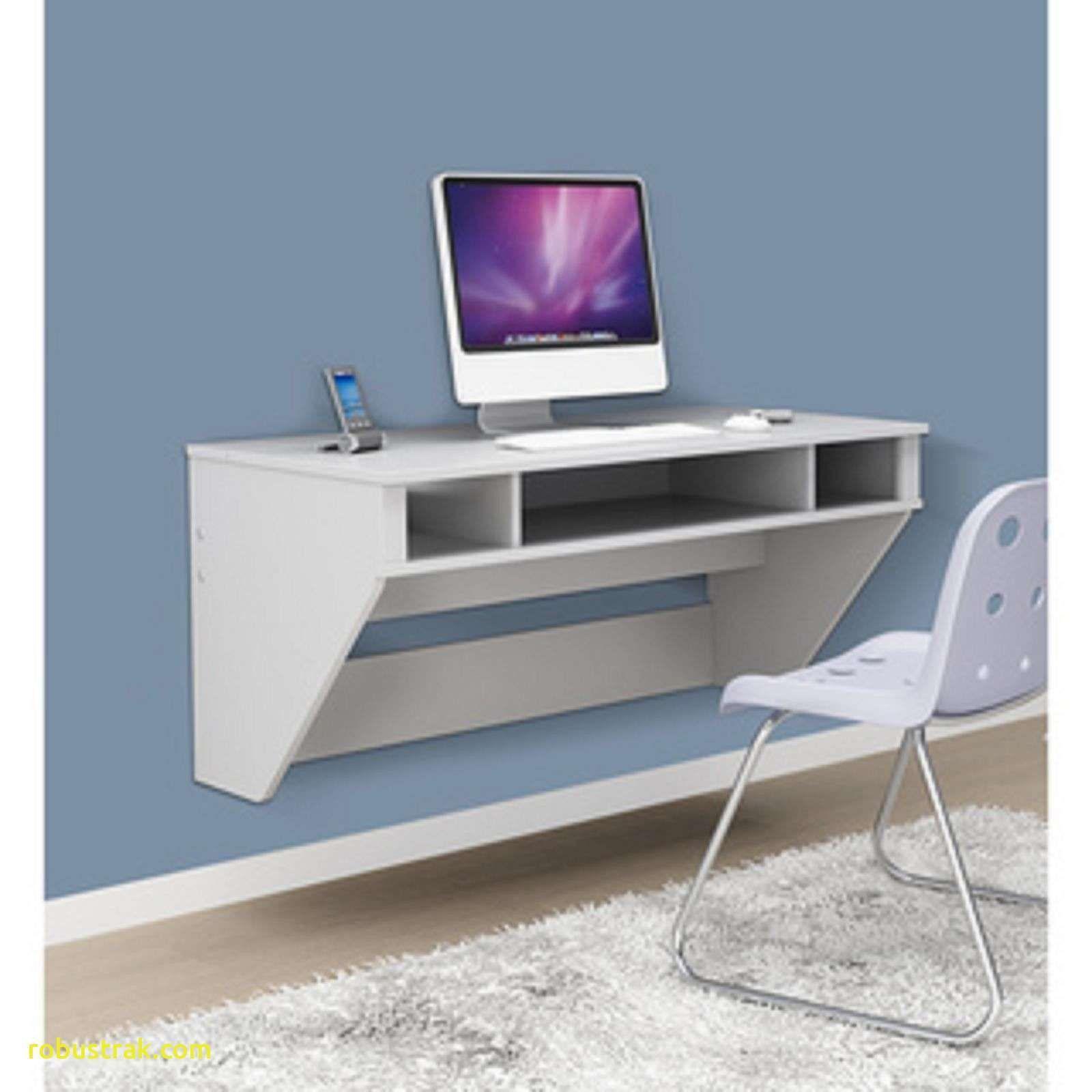 Acrylic Computer Desk White Floating Desk Floating Wall Desk