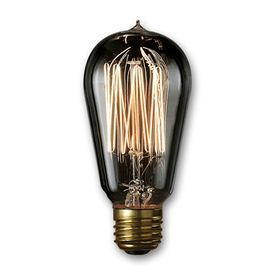 Cascadia Lighting Nostalgic 1910 2 Pack 40 Watt Dimmable Amber