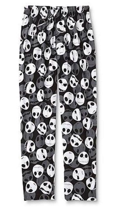 nightmare before christmas mens xxl 2xl lounge pants sleep pajamas new 44 46 disney loungepants