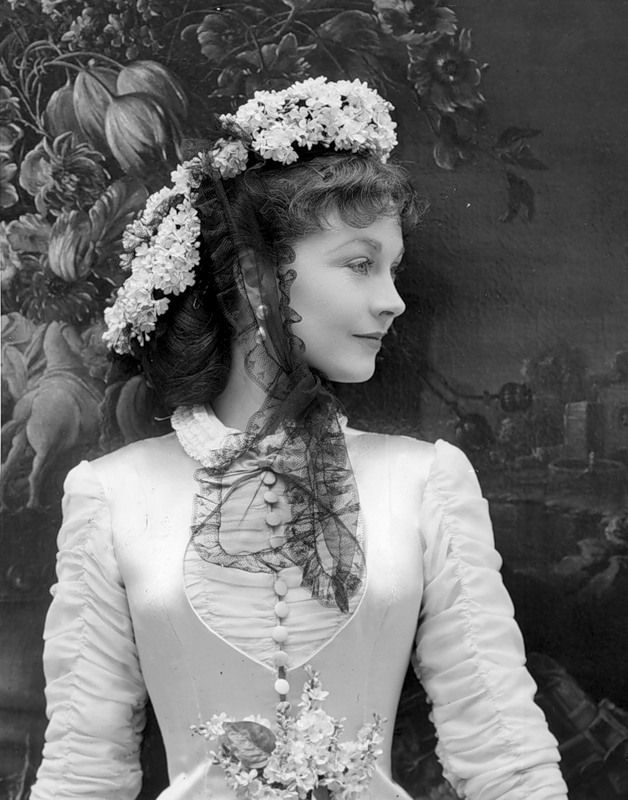 Anna Karenina, 1947. Vivien Leigh (costume and photo by Cecil Beaton for British Vogue).