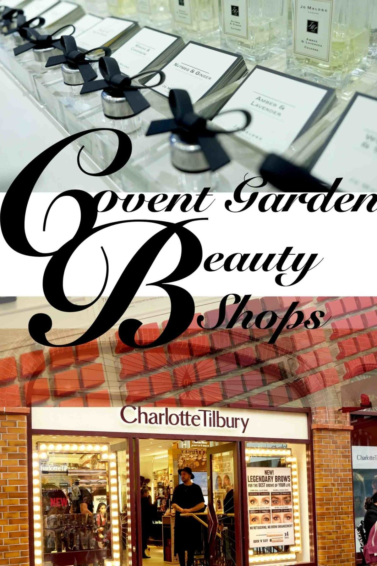 Did you know, Covent Garden is the Heart of Beauty Shops