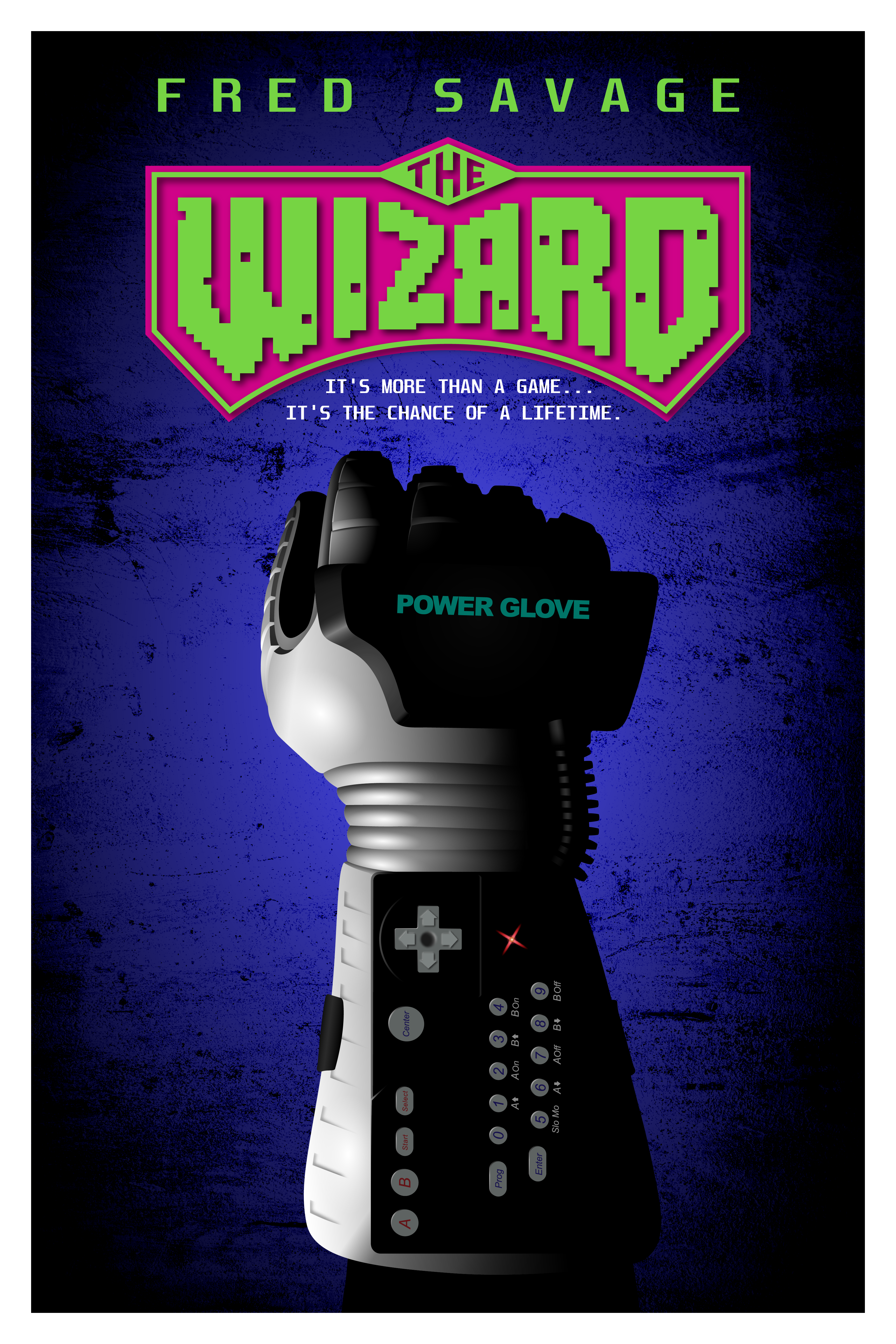The Wizard (1989) Movie Poster Fan Art Vector Design By Me