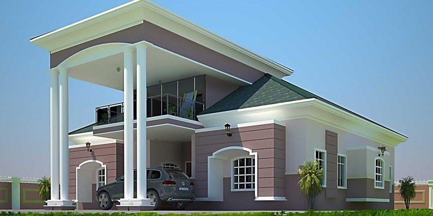 House Plans Ghana Fatak 4 Bedroom House Plan In Ghana 4
