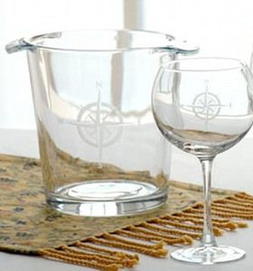 Love these #nautical etched glassware items!