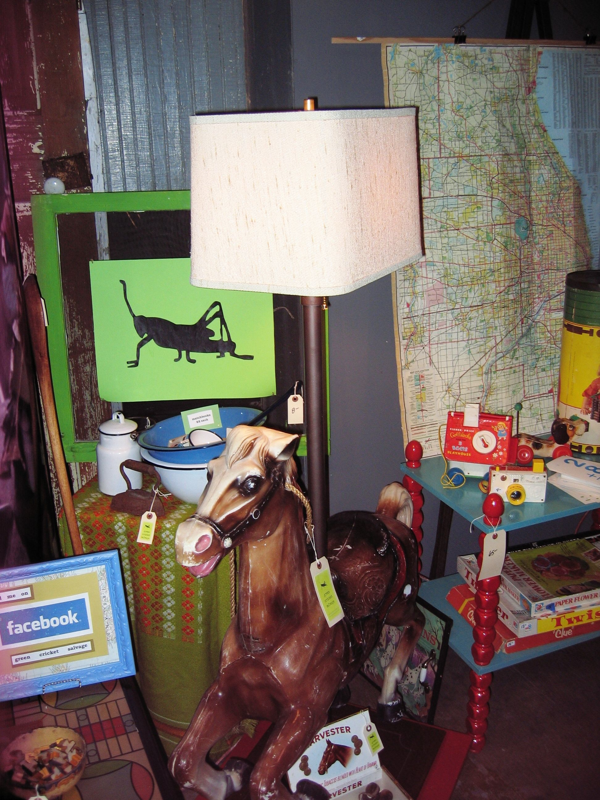 Christmas Crafts Upcycle Upcycled Bouncy Horse Becomes A Lamp