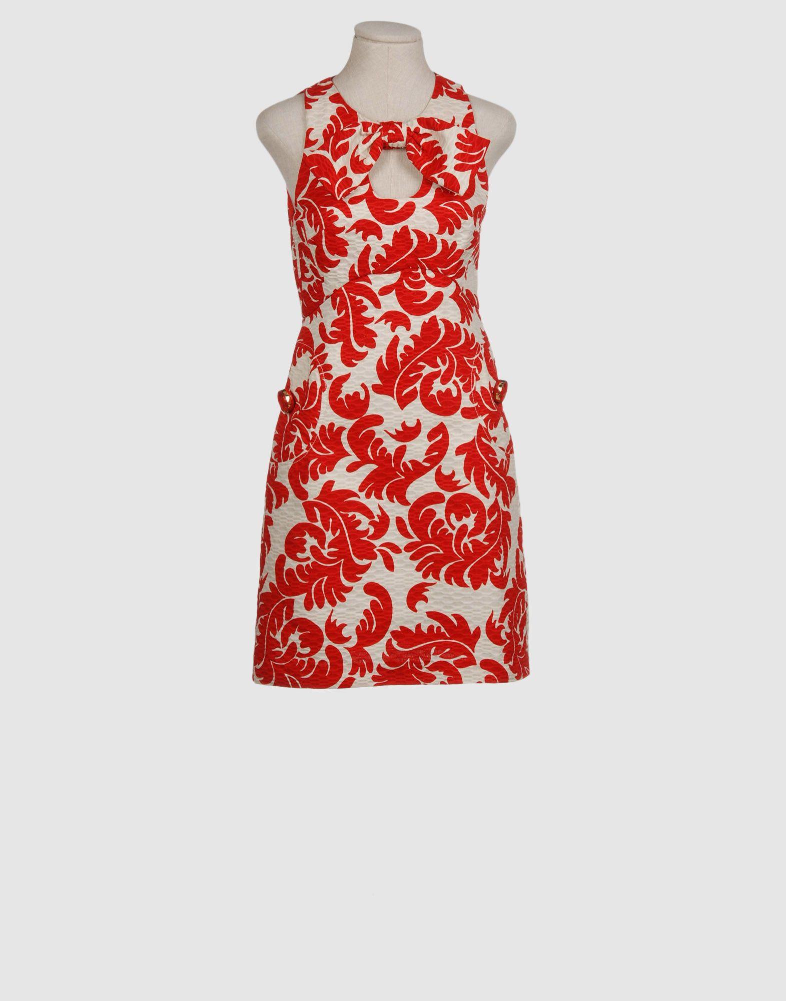 DRESSES - 3/4 length dresses Intropia b1QmaFN
