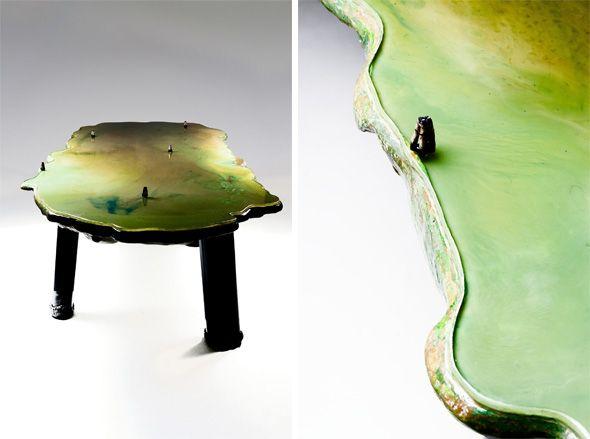 'Six Tables on Water', designed by Gaetano Pesce | Design | Wallpaper* Magazine: design, interiors, architecture, fashion, art