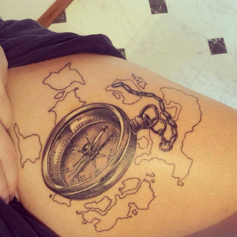 So i 39 ve been thinking about a compass tattoo with the word for Tattoo bussola significato