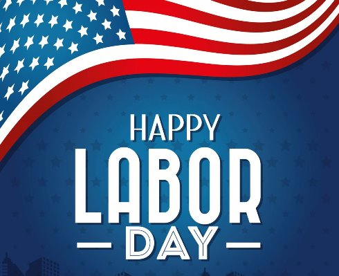 Closed For Labor Day 2020 Usa Happy Labor Day Day Happy